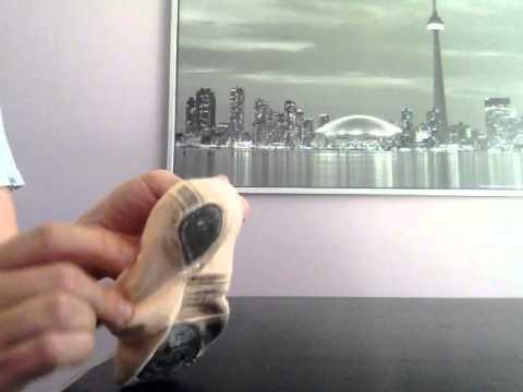 How to rethread a ballet slipper drawstring.