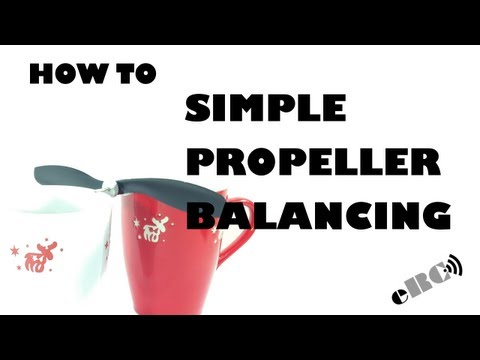 How to - Simple propeller balancing - eluminerRC