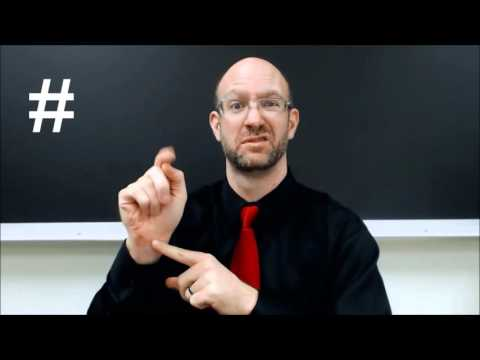 # HASHTAG | ASL - American Sign Language