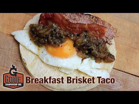 Breakfast Taco - The Best Breakfast Taco is a Breakfast Brisket Taco