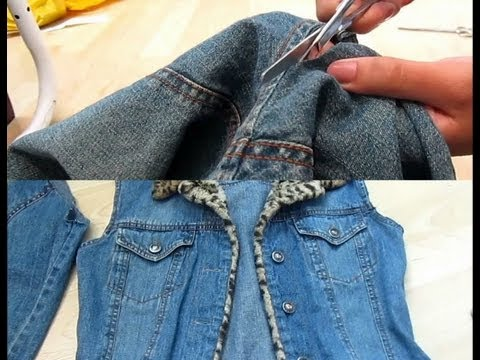 DIY Project: How To Cut Off Sleeves