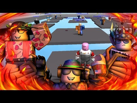 Plates of Fate! (Roblox with Pinkie)