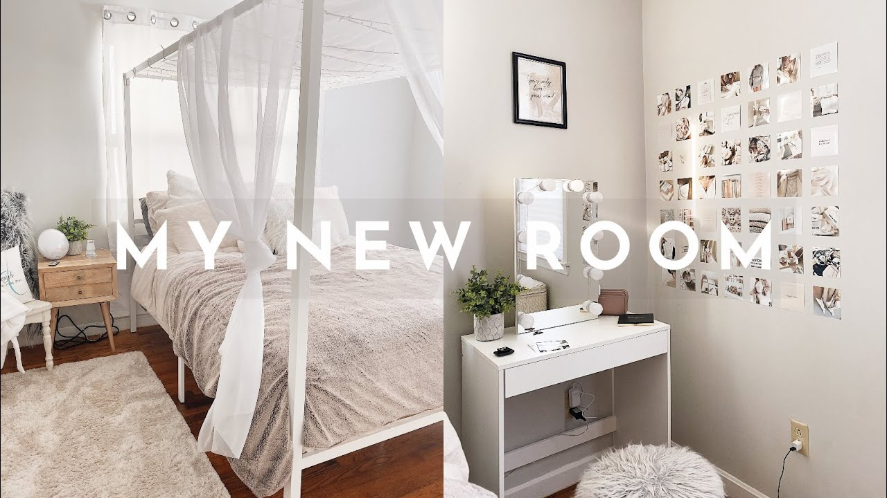 EXTREME BEDROOM MAKEOVER   aesthetic bedroom transformation✨🌥