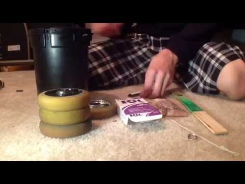 How to dye scooter wheels