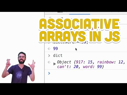 5.2: Associative Arrays in JavaScript - Programming with Text