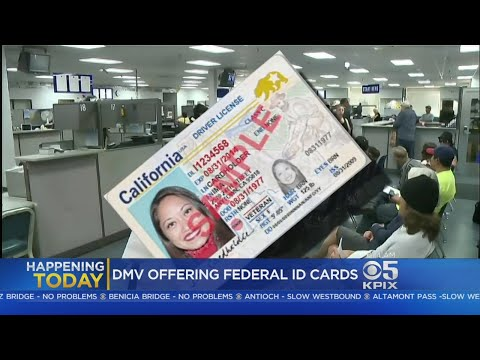 California Begins Offering 'Real ID' Driver's Licenses