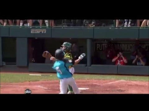 Little League Umpire: Obstruction - you make the call.