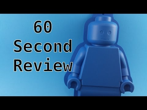 60 Second Lego Minifigure Cake Mold Review. (853575)