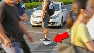 Zapatos con Motor a 100€ en China ! | Segway Ninebot Drift - Patines Electricos