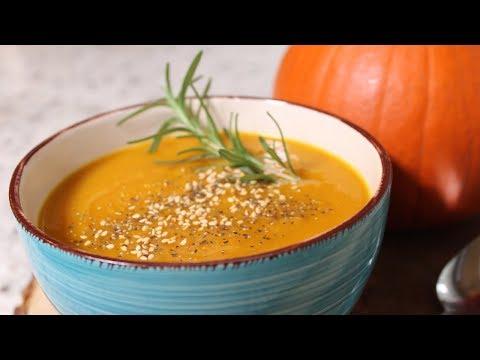 Plant Based Vegan Pumpkin Soup:The Whole Food Plant Based Recipes