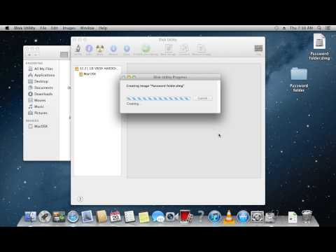 How to Set Password on Folder on Mac