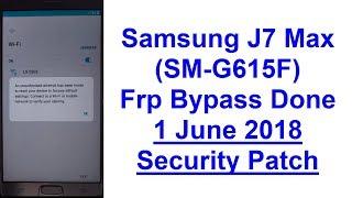 Samsung j7 max G615f/ds FRP Google account unlock 100% done