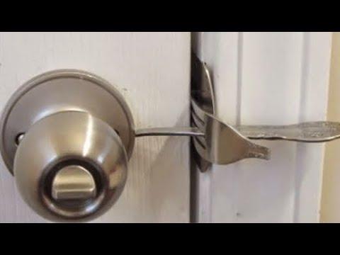 How To Make A Homemade Door Lock