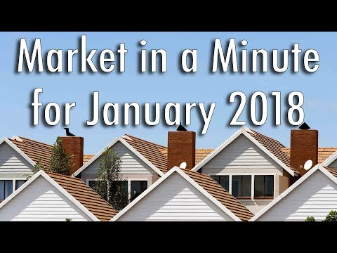 [January 2018] - Seattle Real Estate Market in a Minute Update