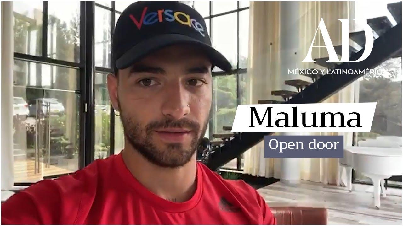 Maluma nos invita a conocer su mansión en Medellín, Colombia