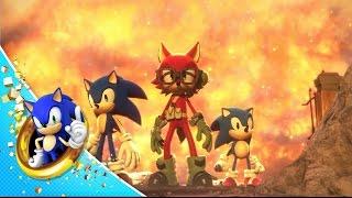 Sonic Forces: Custom Hero Trailer