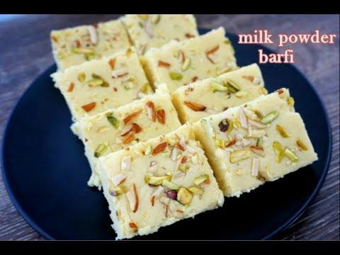 Milk Powder Barfi Recipe   Halwai Style Barfi Recipe   Barfi Recipe   Indian Sweet