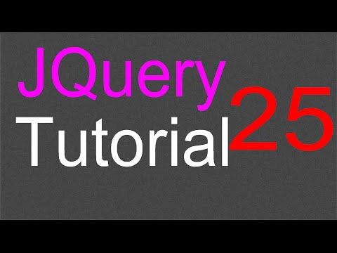 jQuery Tutorial for Beginners - 25 - Setting up the UI files