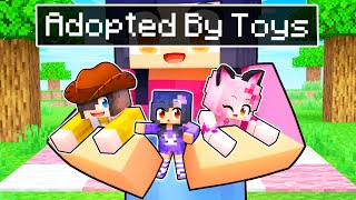 Adopted By TOYS In Minecraft!