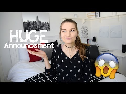 HUGE Announcement!!