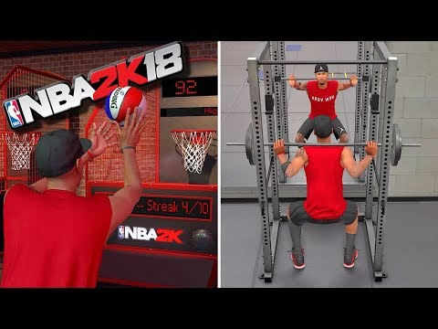 My JUMPSHOT Release & 1st WORKOUT - NBA 2K18 MyCareer #3