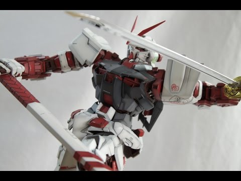 Painted Gundam Astray Red Frame PG - Part 3 - The photo shoot!