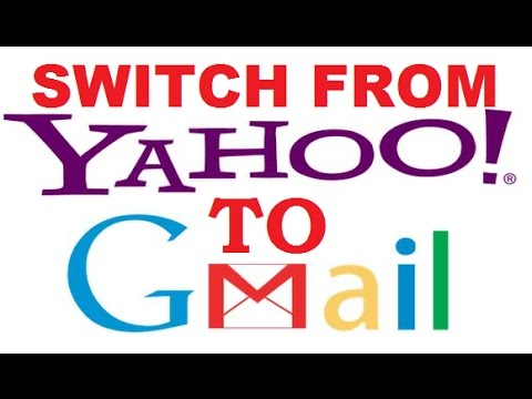 how to transfer mails/contacts from yahoo to gmail account - latest