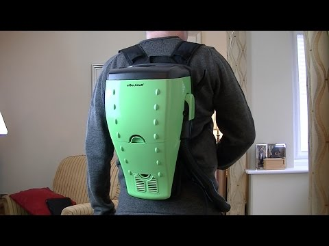 Efbe Schott Back Pack Vacuum Cleaner Unboxing & First Look