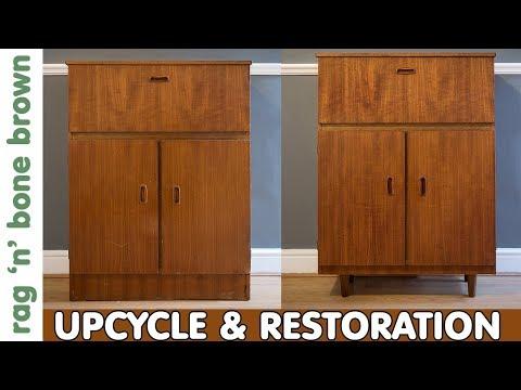 Drinks Cabinet Makeover - Mid Century Restoration