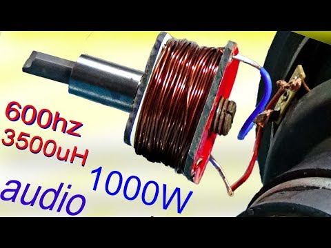 How to increase subwoofer bass, divide 3500uh for super bass