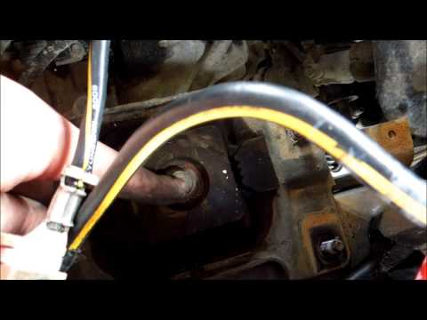 how to change a transmission mount in a mazda 3