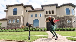 SURPRISING GIRLFRIEND WITH DREAM HOUSE PRANK!!! *SHE CRIES*