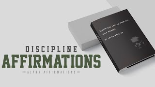 Aggressive Mindset - Discipline Equals Freedom Affirmations - Jocko Willink Motivation