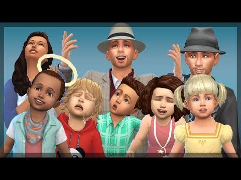 The Sims 4: The Cute Toddler Montage