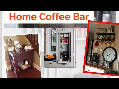35 Exceptional DIY Coffee Bar Ideas for Your Cozy Home