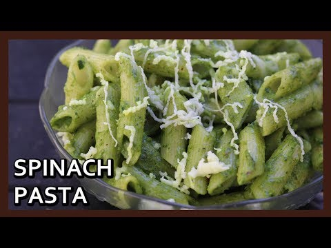 Healthy Spinach Pasta | Spinach Penne Pasta Recipe | Hands Tied On Challenge | Healthy Kadai