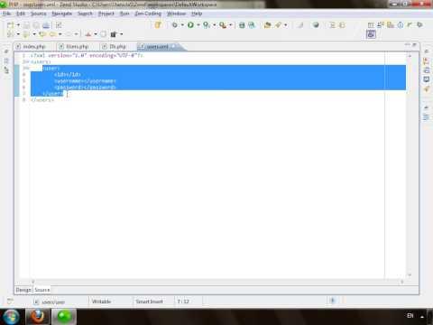 Создаём класс для работы с XML