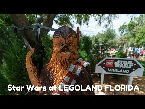 Florida Travel: See The New Star Wars MINILAND at LEGOLAND Florida