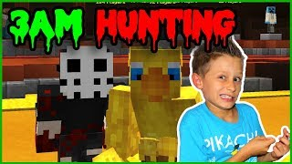 HUNTING IN HYPIXEL AT 3AM!