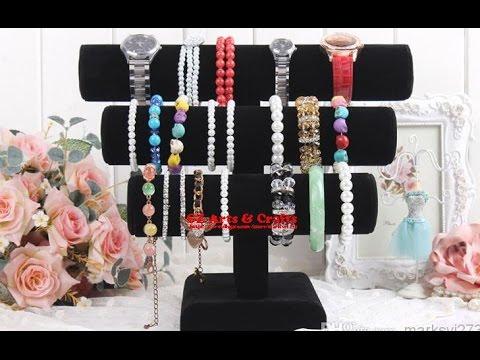 DIY EASY Necklace & Bracelet Holder | ROOM DECOR |DIY: Jewelry Holder - Forever 21 inspired 2017