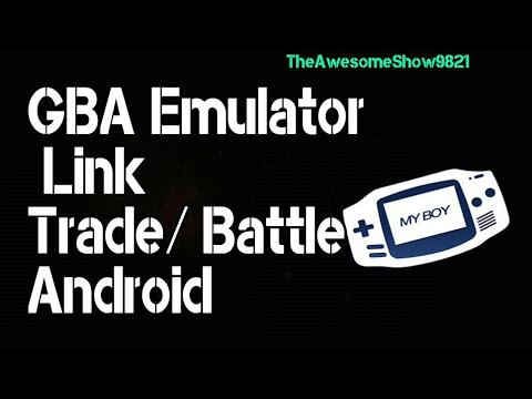 [Remake] GBA Emulator Link Trade/battle (Android)