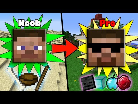 More Fast&Easy Ways to Transform from NOOB to PRO in Minecraft