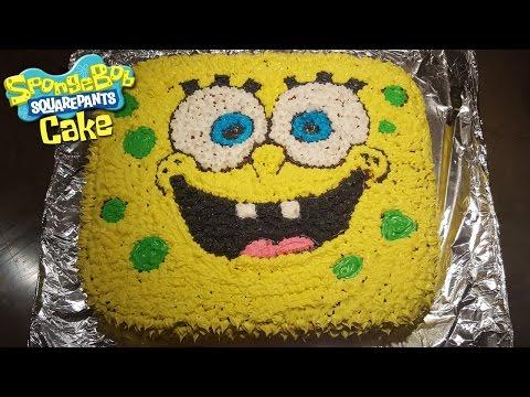 How To Make A SPONGEBOB CAKE! - Spongebob Squarepants Cake!