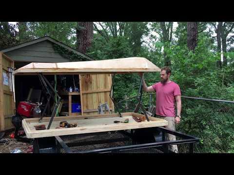 My DIY Rooftop Tent