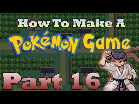 How To Make a Pokemon Game in RPG Maker - Part 16: Creating New Moves