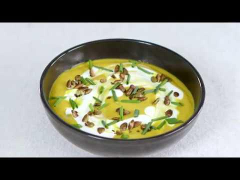 Creamy Turmeric Cauliflower Soup | Cooking Light