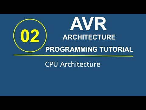 Embedded Systems Programming with AVR 2- CPU Architecture