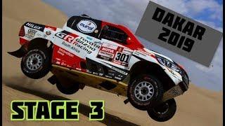 Dakar 2019   YOUTUBE COMPILATION   STAGE 3 - San Juan de Marcona - Arequipa