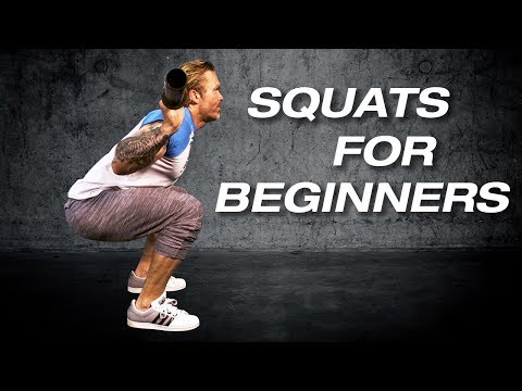 Squats For Beginners - How To Do A Squat Properly  |  ATT