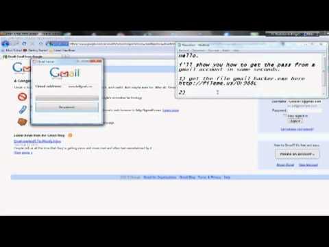 How i hack gmail password 2010